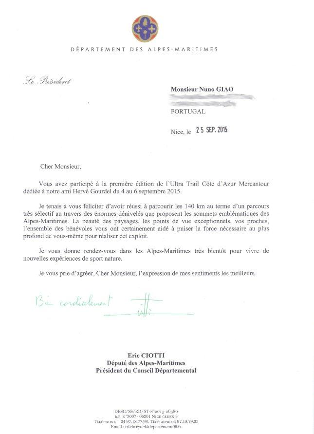 UTCAM letter